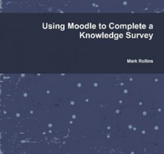 Using Moodle to complete knowledge survey
