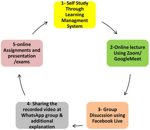 Use of social media and WhatsApp to conduct teaching activities during the COVID‐19 lockdown in Pakistan