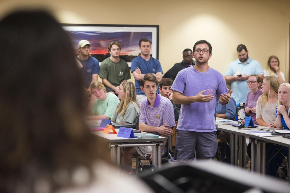Filing period closing for potential LSU SG Student Senate candidates