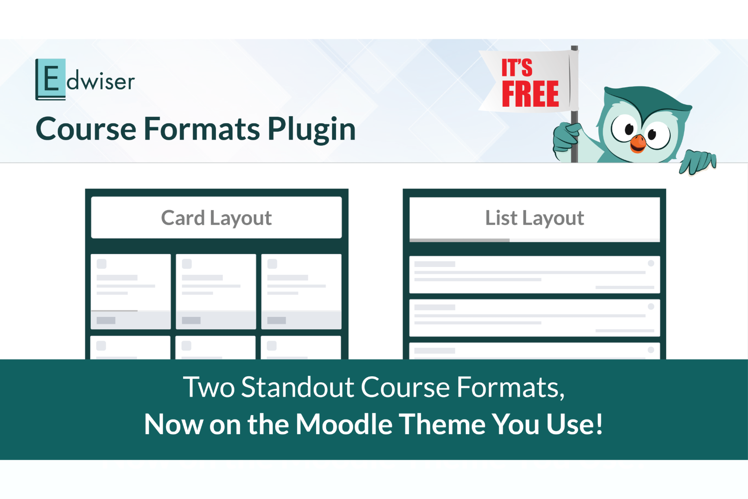 One Plugin To Completely Transform The Way Your Moodle Course Content Looks