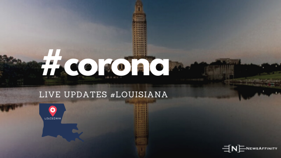 Coronavirus Louisiana Live : Cases, Updates & Map