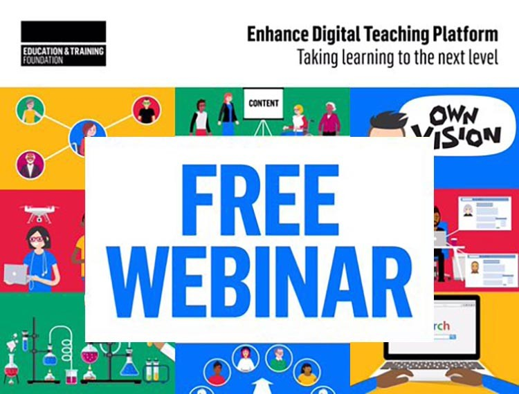 Free webinars to support online learning in a time of crisis