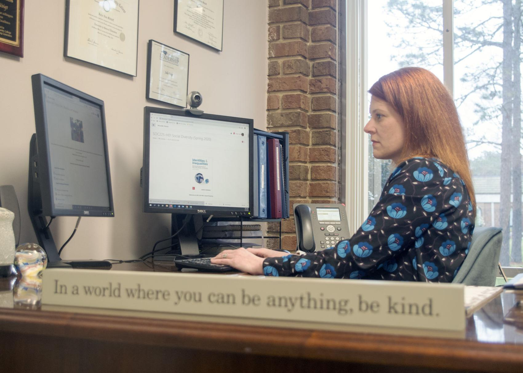 Classes Resume at Sandhills Community College, But From Afar